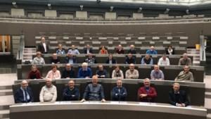 Riemstenaren brengen bezoek aan Vlaams parlement
