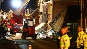 Kleuter zit al urenlang vast onder ingestort gebouw in Nederland na explosie