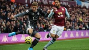 Leicester pakt bij Aston Villa achtste competitiezege op rij, Praet geeft assist