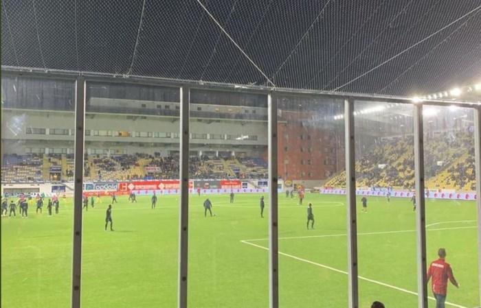 Brugse fans boos over 'de kooi van STVV'