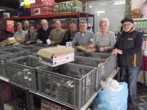 Sint-Vincentiusvereniging maakt kerstpakketten klaar voor arme gezinnen