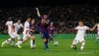 Doelpuntenkermis in Camp Nou, maar de mooiste goal van allemaal was dit sublieme hakje van Luis Suarez