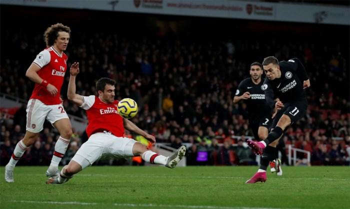 Assist van Trossard levert Brighton een punt op tegen Wolves