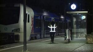 Trein vat vuur in Nederlands-Limburg