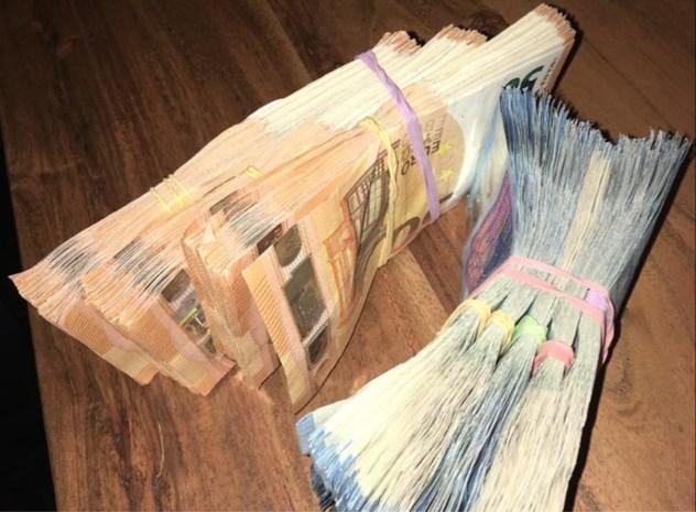 35.000 euro cash in beslag genomen bij actie tegen cocaïnehandel
