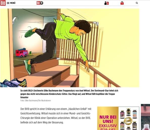 """Axel Witsel out voor rest van het jaar na val thuis over traphekje: """"Hij lag op de intensieve"""""""