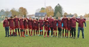 U15 KFC Diepenbeek herfstkampioen