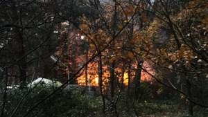 Chalet uitgebrand op camping 't Soete Dal