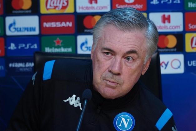 """Napoli-trainer Carlo Ancelotti: """"Tegen Genk moeten we onze negatieve spiraal doorbreken"""""""