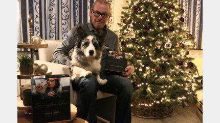 Kerstmenu voor Blackie: Beringenaar serveert honden frietjes en hondenbier