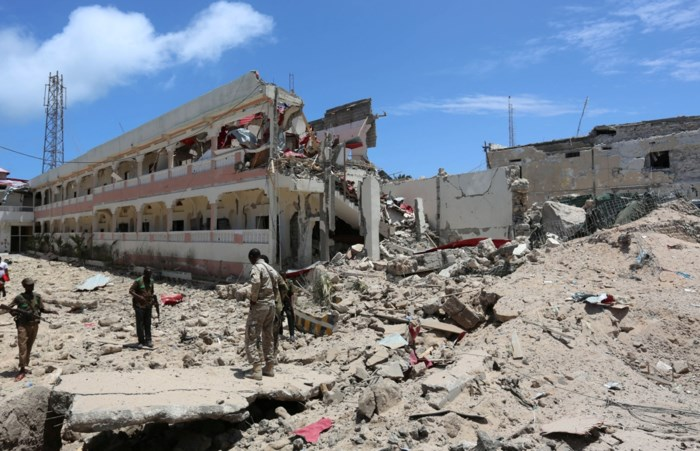 Vijf doden nadat gewapende mannen hotel bestormen in Somalië