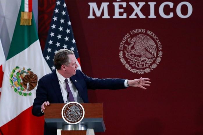 Handelsdeal tussen Noord-Amerikaanse landen ondertekend in Mexico
