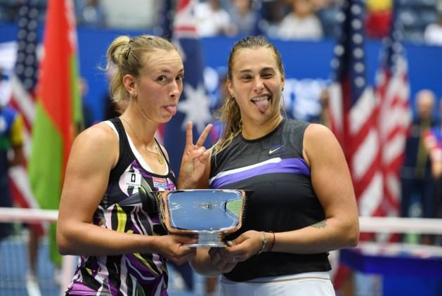 Elise Mertens samen met Aryna Sabalenka genomineerd voor WTA-prijs van beste dubbelpaar van het jaar