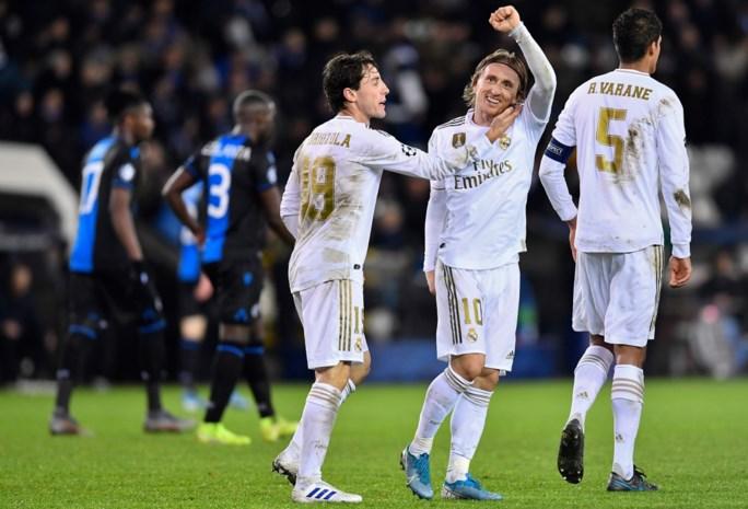 Geen punten, wel applaus: Club verliest van B-ploeg Real Madrid, maar gaat wel naar Europa League