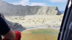 Nog altijd acht vermisten na vulkaanuitbarsting Nieuw-Zeeland