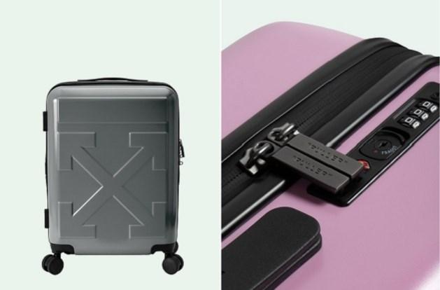 Off-White pakt nu zelf uit met een reiskoffer
