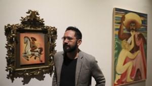 Opschudding in Mexico over schilderij dat nationale held Zapata als homo afbeeldt