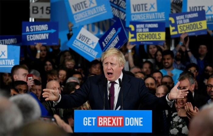 Peiling voorspelt winst voor Boris Johnson donderdag