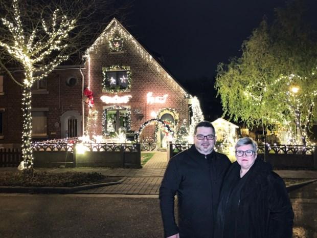 """Genkenaren hullen huis in kerstlichtjes: """"10.000 stuks is het doel"""""""
