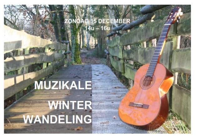 Muzikale winterwandeling op Blueberry Fields