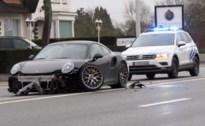 Porsche total loss na botsing met Renault