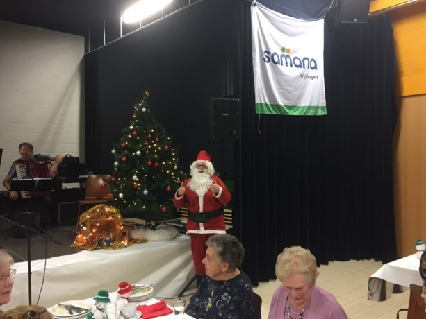 Samana en Okra Wijshagen vieren kerstfeest