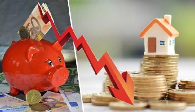 Belg verloor dit jaar gemiddeld 364 euro door geld op spaarrekening te laten staan
