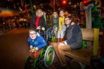600 zieke kindjes vergeten zorgen voor een dag en vieren feest in Plopsa Indoor