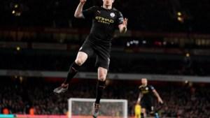 Kevin De Bruyne scoort na 89 seconden tegen Arsenal met heerlijke knal
