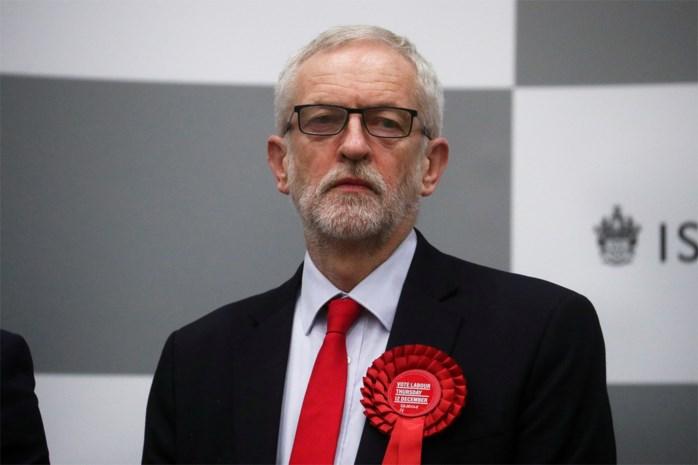 """Jeremy Corbyn excuseert zich bij Labour-kiezers na historische nederlaag: """"Het was een onaflatende lastercampagne"""""""