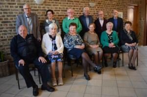 80-jarigen van Tongerlo vieren feest