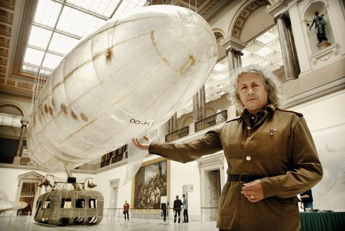 Panamarenko, absolute topnaam uit de Belgische kunstwereld