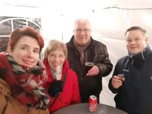 Parochiale werkgroep Guigoven steekt kerstlichtjes aan