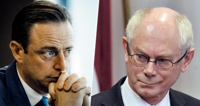 """Herman Van Rompuy (CD&V) over Bart De Wever (N-VA): """"Hij straalt machteloosheid uit"""""""