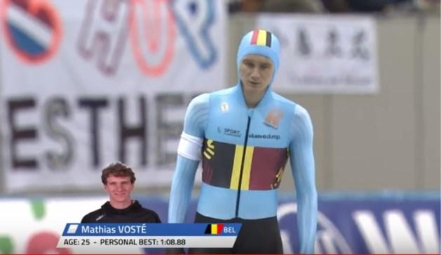 Landgenoot Mattias Vosté bevestigt niet op WB snelschaatsen in Nagano, Belgische dames stellen EK-ticket veilig