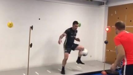 KRC Genk-doelman Danny Vukovic terug in België