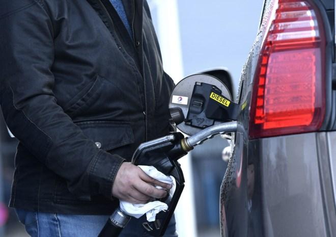 Diesel wordt dinsdag duurder