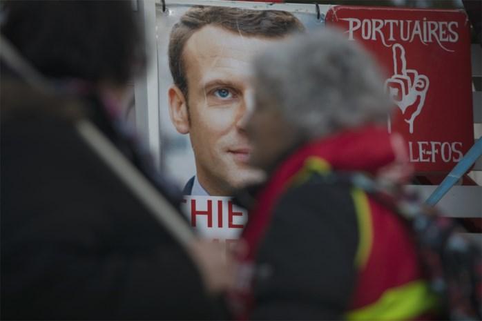 Vertrouwen in Franse president Macron stijgt