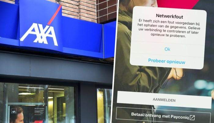 Mobiel bankieren en internetbankieren bij Axa Bank hersteld