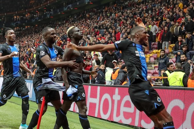 """UEFA geeft Club Brugge waarschuwing voor """"ongepast gedrag"""" in Champions League"""