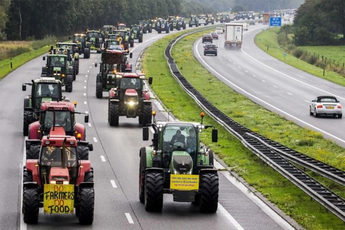 Fileleed in Nederland door protestacties boeren en bouwers