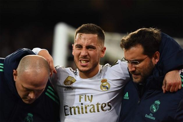 """Real-coach Zinedine Zidane steekt teleurstelling niet weg na enkelbreuk van Eden Hazard: """"Zeer slecht nieuws"""""""