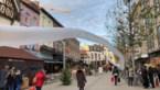 Shoppers kijken raar op: 50 meter lange zak vliegt door Hasselt