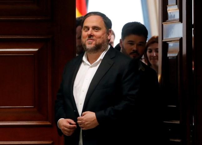 Opgesloten Catalaanse leider geniet parlementaire immuniteit, zegt EU-Hof