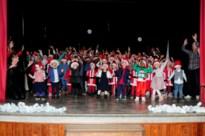 Leerlingen vrije basisschool Sint-Gertrudis schitteren op eigen kerstfeest