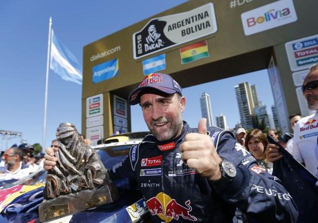 Meervoudig Dakar-winnaar staat ook straks opnieuw aan de start maar deze keer zonder zijn vrouw