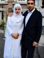Saima en Nasir in Hasselt
