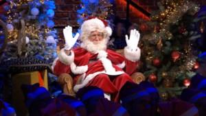Jacques Vermeire speelt kerstman bij Philippe Geubels