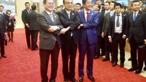 China, Japan en Zuid-Korea bundelen krachten voor denuclearisering Noord-Korea