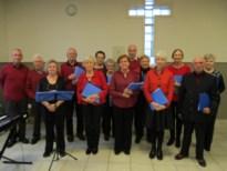 Het Bolsterkoor zingt kerstliederen in Maasmechelen
